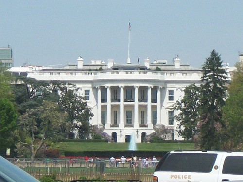 The White House in Washington DC