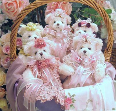 Victorian Teddies