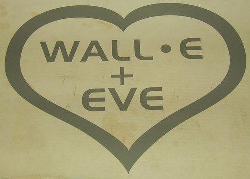 WALL-E + EVE
