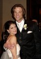 WeddingPIc - jared-padalecki-and-genevieve-cortese photo