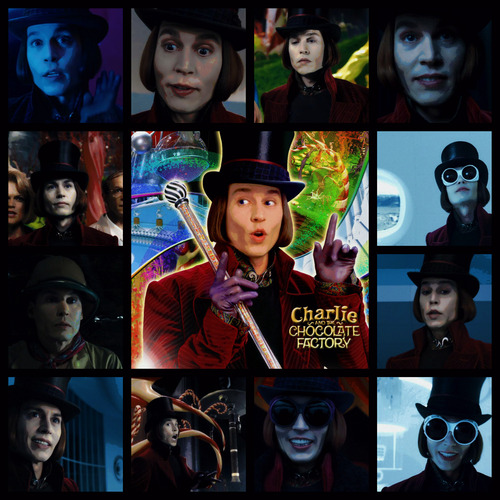 Willy Wonka CATCF Collage :)