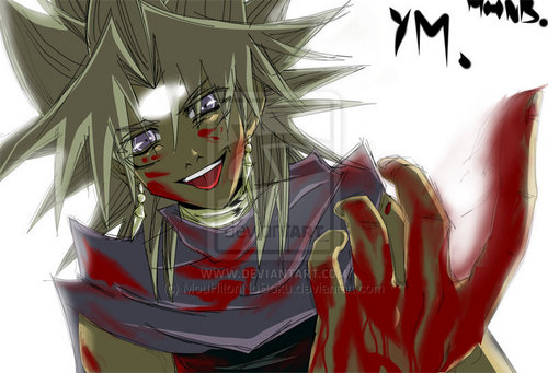 Yugioh The Abridged Series 壁纸 called Yami Marik
