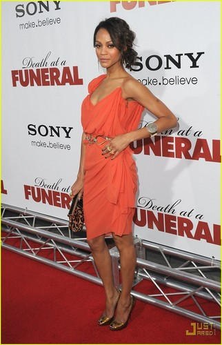 Zoe @ Death at a Funeral Premiere