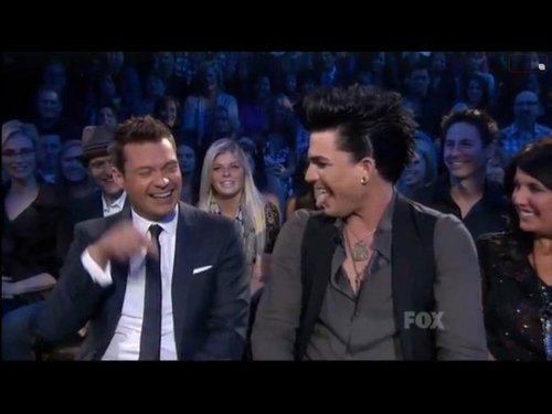 adam lambert on idol