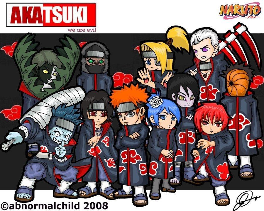Naruto Shippuuden akatsuki