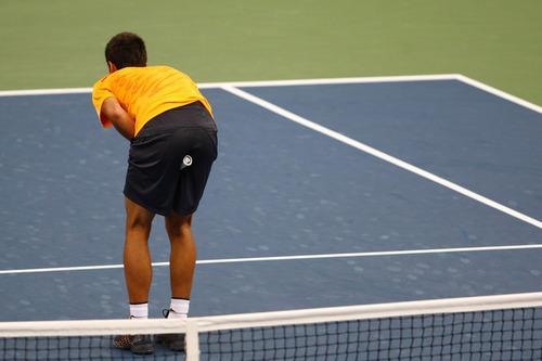djoko:racquet in नितंब, गधा !!!