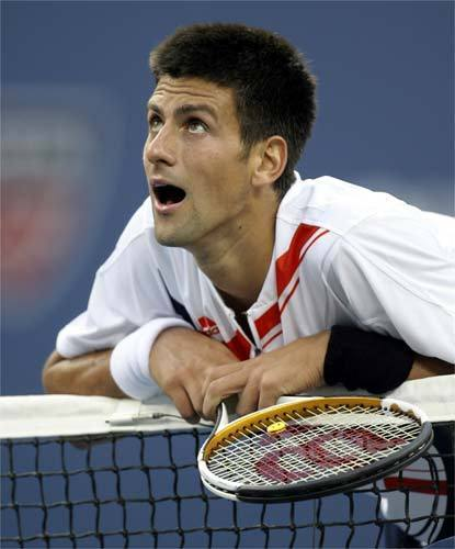 djokovic face