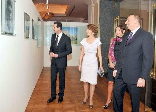 first lady asma in azerbaijan