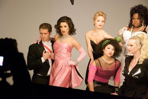 Madonna-themed 사진 shoot