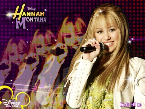 disney Channel bintang Singers wallpaper titled hannah