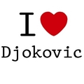 i love djokovic - novak-djokovic fan art