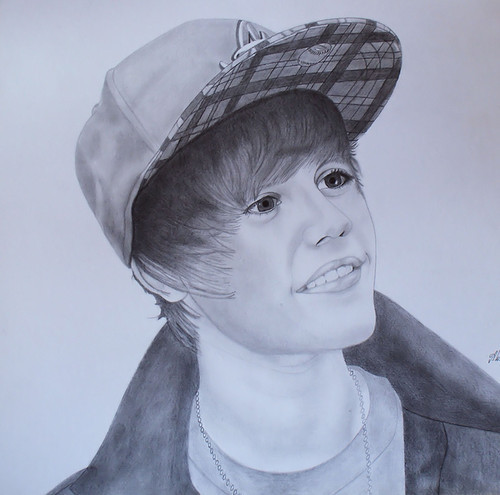 justin bieber drawing pictures. My-mother-drawing-justin-
