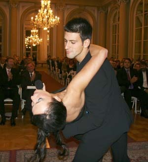 novak djokovic wallpaper titled novak and Dirty Dancing