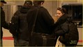 rob and kristen at the  airport in budapest - twilight-series photo