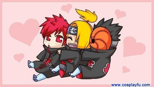tobi, deidara and sasori