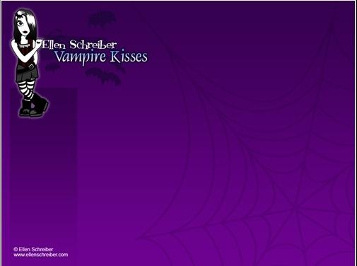 wallpaper kisses. vampire kisses wallpaper