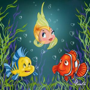 Finding Nemo kertas dinding called nemo