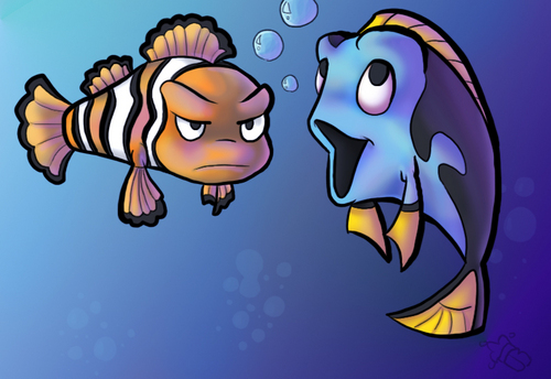 Finding Nemo wallpaper called  nemo