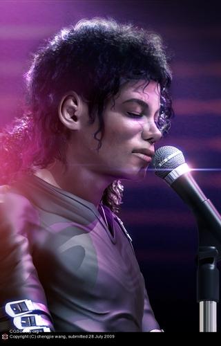 Michael Jackson wallpaper called 3D