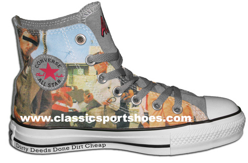 converse homme acdc