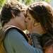 Alexandra and Logan kissing!