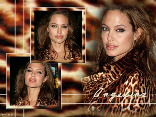 Angelina Wallpaper