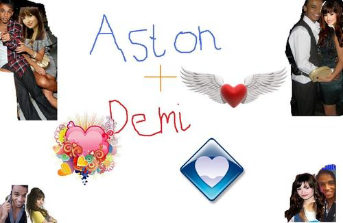 Aston and Demi Lovato