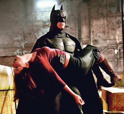 Batman and Rachel