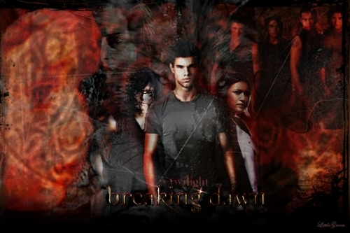 Breaking Dawn Poster (Alpha Jacob)