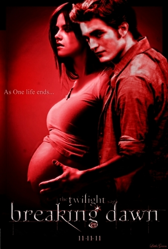 Breaking Dawn Poster (Bella Pregnant)