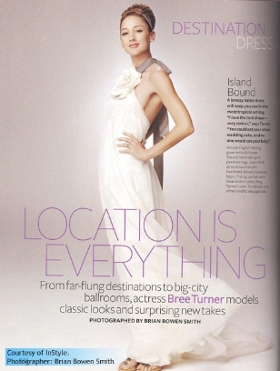 Bree in InStyle