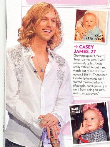 Casey James as a baby