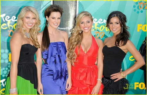 Chelsea @ 2009 Teen Choice Awards