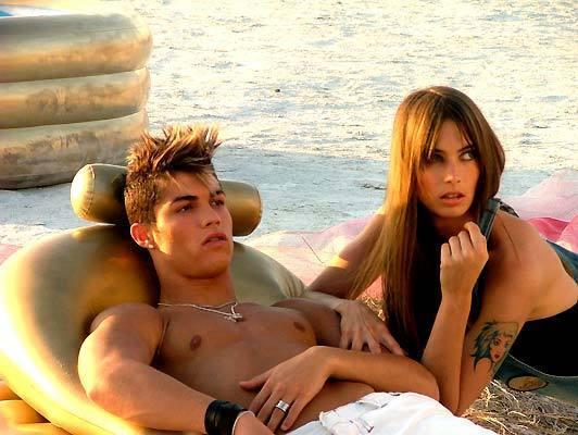 Cristiano Ronaldo and Jessica Miller