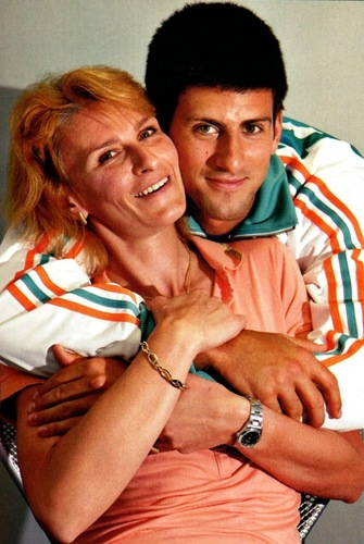 novak djokovic wallpaper entitled DJOKO AND MOTHER