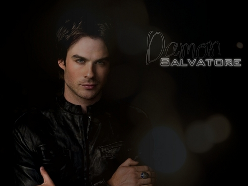 Damon Salvatore - damon-and-elena Wallpaper