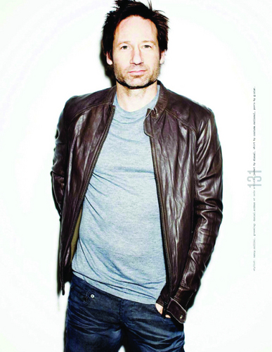 "David in ""Nylon Guys"" Magazine"