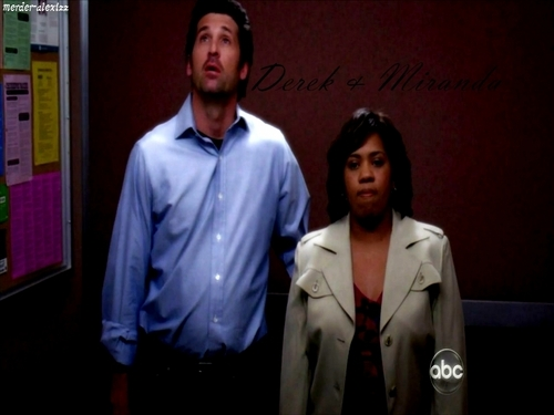 Grey's Anatomy wallpaper called Derek.Miranda01