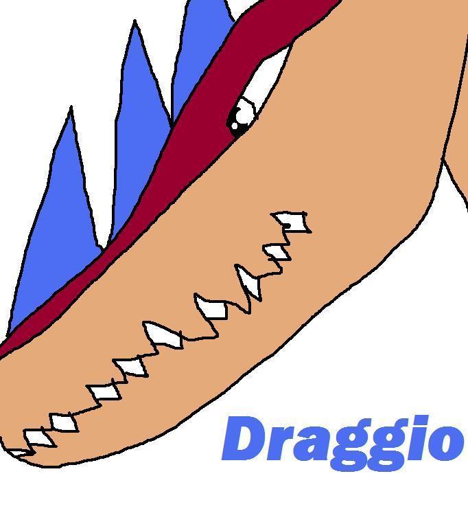 Draggio, what Draggie evolves into