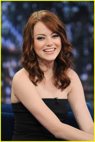 Emma Stone on Late Night With Jimmy Fallon
