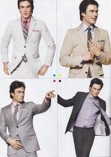 Entertainment Weekly, April 2010  - ian-somerhalder Photo