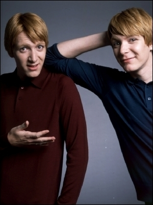 George & Fred Weasley