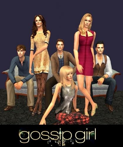 Gossip Girl Sims!!!!!