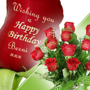 Roses Images Happy Birthday Berni Xx Wallpaper And Background Photos