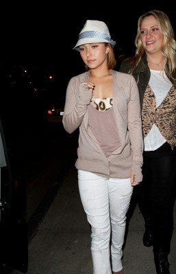 Hayden out in Hollywood