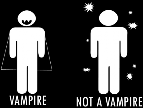 How To Spot A Real Vampire
