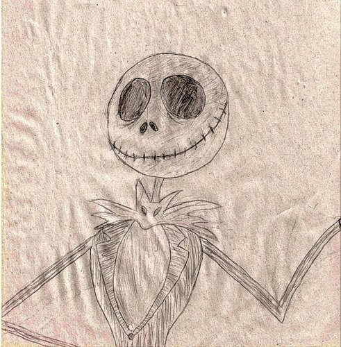 Jack Skellington Sketch