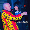 James St. James & Lisa E's Photo Op at Caroline's