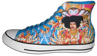 Jimi Hendrix converse Shoes