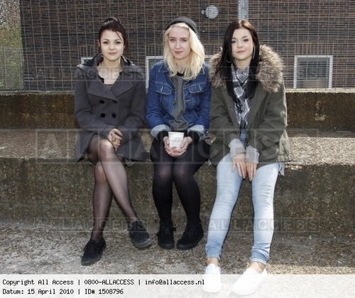Kat,Lily and Meg @ Skins auditions